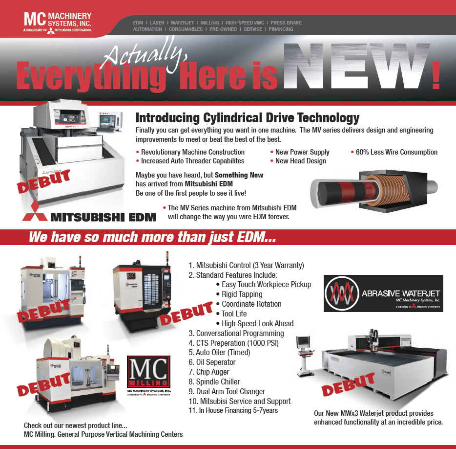 What's New From Mitsubishi At IMTS 2012?