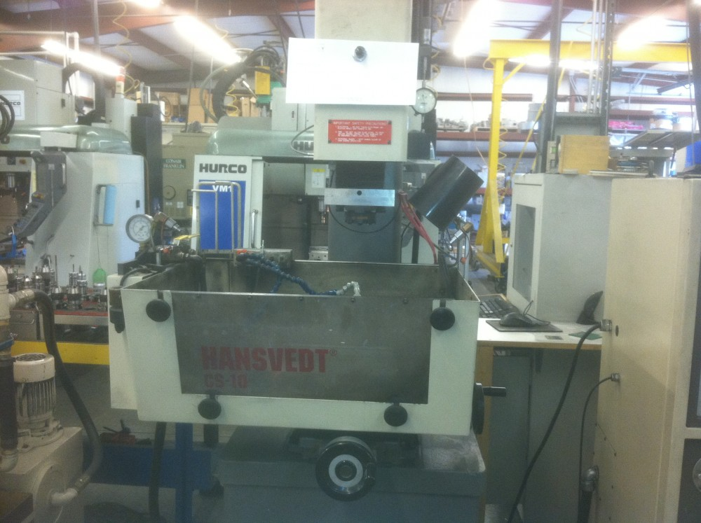 SOLD – Used Sinker EDM Machine – Hansvedt