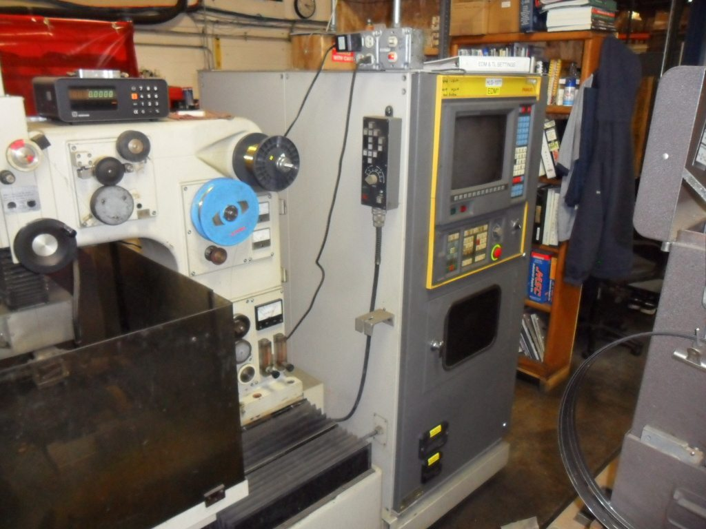 SOLD – Used Wire EDM Machine – 1987 Fanuc WO