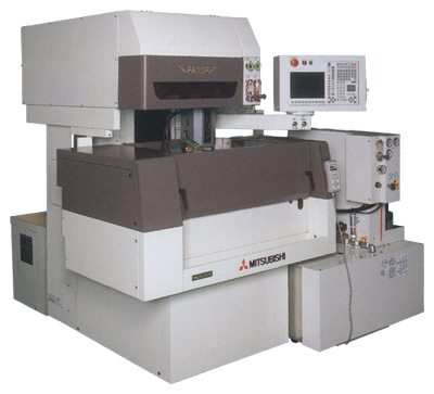 used wire edm machine mitsubishi fa10p