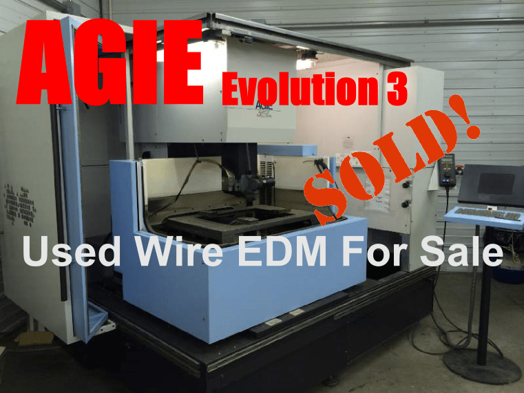 Used Agie Wire EDM Sold