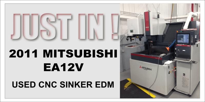 Used Mitsubishi EA12V CNC Sinker EDM