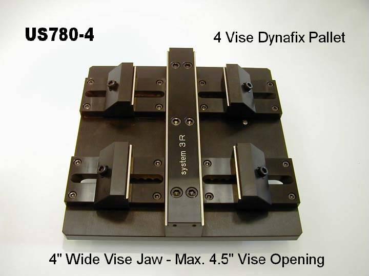 System 3R Dynafix Vise US780-4