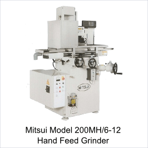 Manual Surface Grinder – Mitsui Model 200MH-6-12