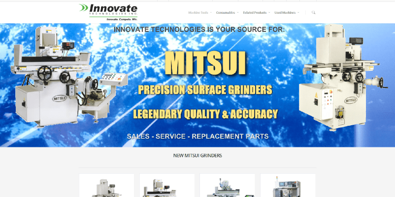 New Mitsui Grinders Micro Site