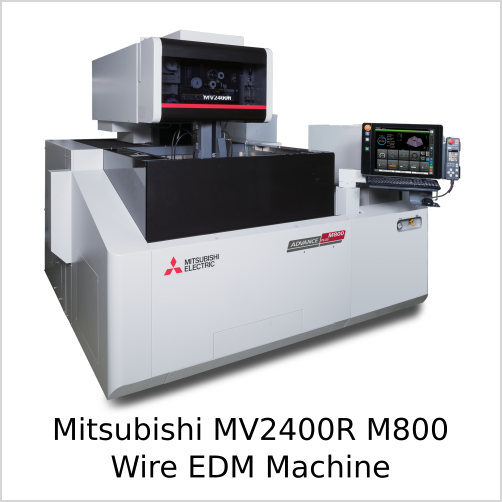 Mitsubishi MV2400R M800 Wire EDM Machine