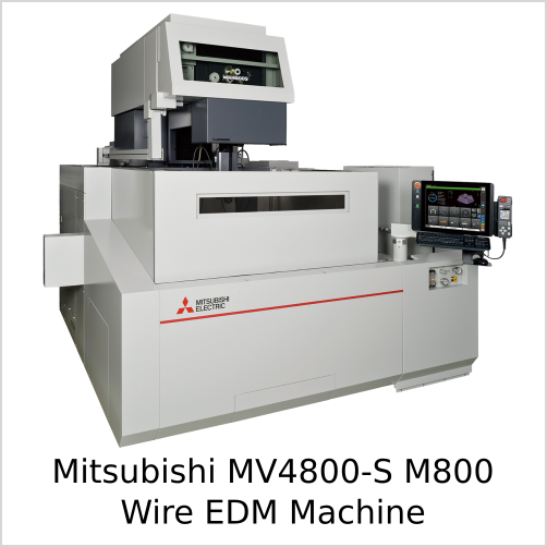 Mitsubishi MV4800S M800 Wire EDM Machine