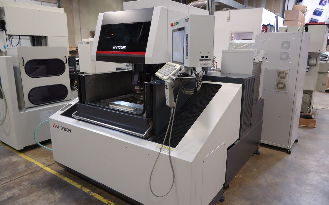 Used 2013 Mitsubishi MV1200-R Wire EDM Machine