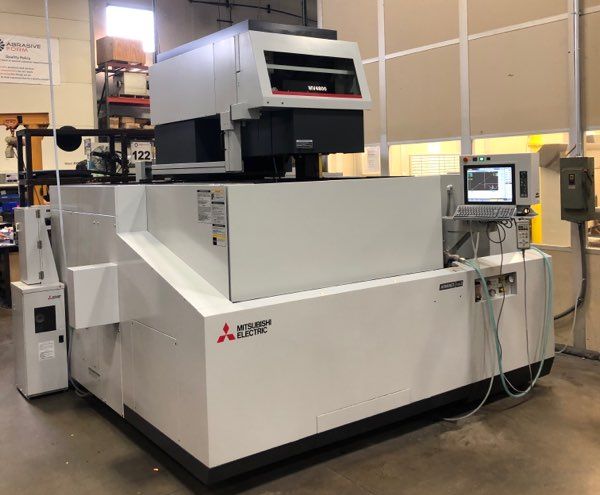 Used Wire EDM Machine For Sale – 2019 Mitsubishi MV4800