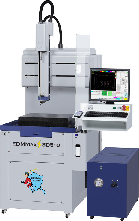 EDMMAX Model SD-510 EDM DRILLING MACHINE