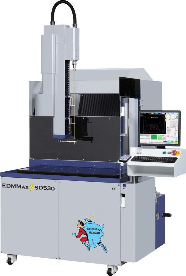 EDMMAX SD-530 CNC EDM DRILL