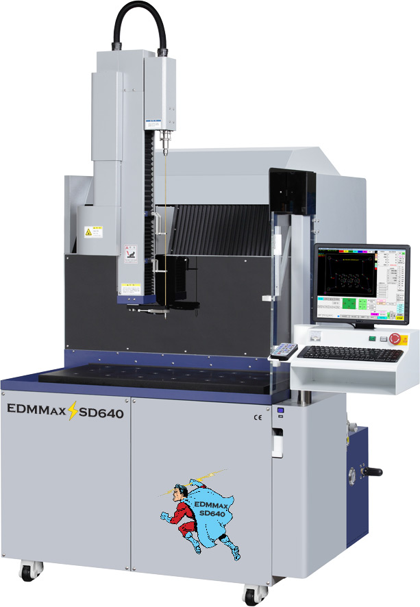 EDMMAX SD-640 CNC EDM DRILL