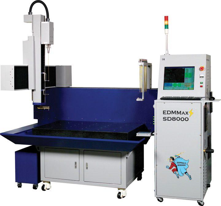 EDMMAX SD-8000 CNC EDM DRILL