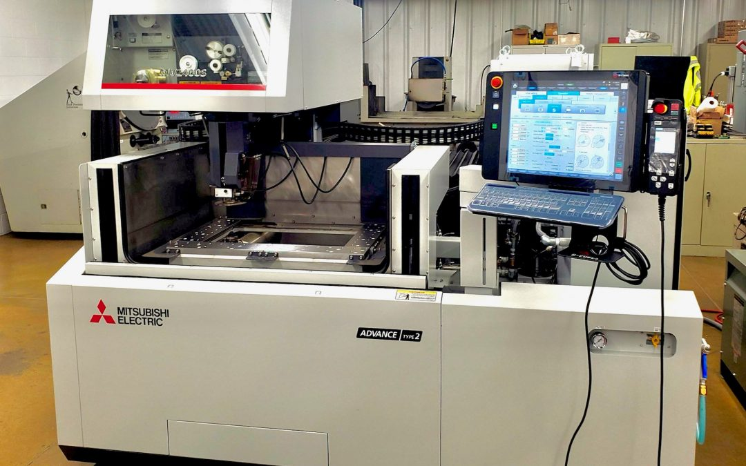A High Profile Molding Company That Serves The Automotive & Appliance Industry Received Their Brand New Mitsubishi MV2400-S Wire EDM To Start The Year #Mitsubishi #MCMachinery #Automotive #Appliance #WireEDM #Manufacturing #AnotherHappyCustomer #Innovate
