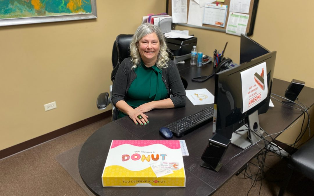 Employee Appreciation Post!  Innovate Technologies, Inc.'s Office Manager, Laura Kvasnicka